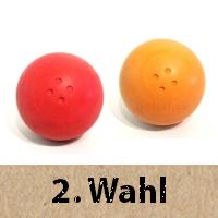 Boßelkugeln 2.Wahl aus Gummi