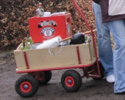 Boßelkugel Bolerwagen