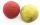 Boßelkugel gummi 10.5cm rot (Hobby)  3.Wahl