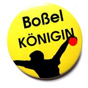 Button Boßelkönig Motiv 104