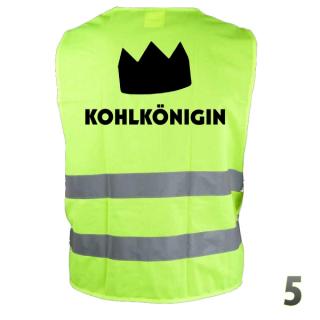 "Warnweste ""Kohlkönigin 5"""
