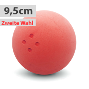 Boßelkugel für Kinder 9.5cm rot (Hobby) 2. Wahl