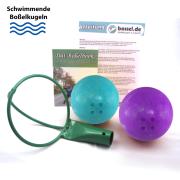Boßelkugel-Set - 2 schwimmende Boßelkugeln...