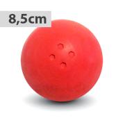 Boßelkugel für Kinder 8.5cm rot (Hobby)