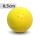 Boßelkugel für Kinder 8.5cm gelb (Hobby)