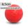Boßelkugel für Kinder 8,5cm rot  verminderte Sprungkraft (Halle)