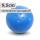 Boßelkugel für Kinder 9.5cm  blau verminderte Sprungkraft (Halle)