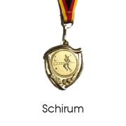 Medaille Schirum gold ca 40mm