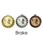 Medaille Brake 70mm 9175