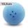 Boßelkugel gummi 10.5cm blau (Hobby) RAU