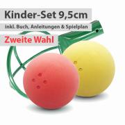Kinder-Set - 2 Boßelkugeln 9,5cm (II.Wahl)
