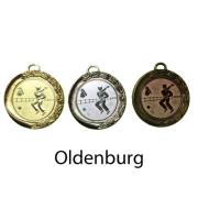Medaille Oldenburg 70mm 9084 nur GOLD