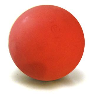 Boßelkugel aus Gummi WV 11,5cm rot 800g (HALLE)