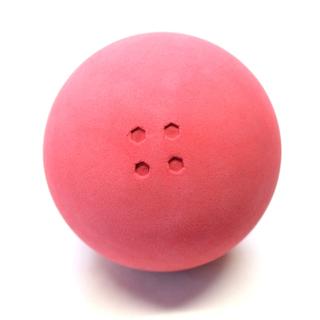 Boßelkugel gummi 10.5cm rot (Hobby)  2.Wahl