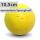 Boßelkugel 10,5cm gelb verminderte Sprungkraft (Halle)