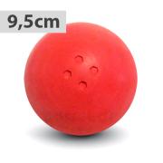 Boßelkugel für Kinder 9.5cm rot (Hobby)
