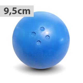 Boßelkugel für Kinder 9.5cm blau (Hobby)