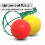 Kinder-Set - 2 Boßelkugeln 9,5cm