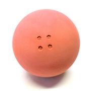 Boßelkugel gummi 10.5cm orange (Hobby)  2.Wahl