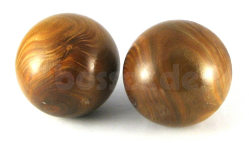 Bosselkugel Holz